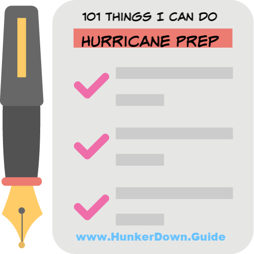 101 top things to do to prepare for a hurricane