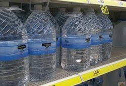bottled water can serve as a backup supply, but keep track of expiration